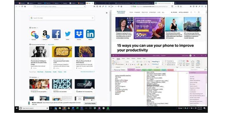Split Screen on Windows 10